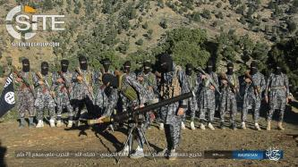 IS' Khorasan Province Publishes Photos of Artillery and Rocket Training at Military Camp