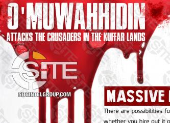 IS-linked Group Advises on Means, Execution of Lone-Wolf Attacks in West
