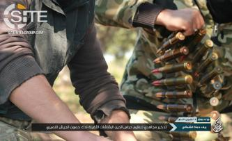 Jihadi Media Center Reports Hurras al-Deen Raid on Syrian Regime, Shi'ite Militia Positions in Hama
