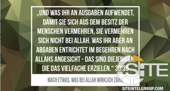 Echoing Ramadan Request, German Jihadi Magazine Staff Asks for Bitcoin Donations for Eid