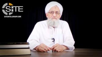 AQ Leader Zawahiri Champions Jihad to Liberate Palestine, Calls Fighters to Expand Scope of Battle