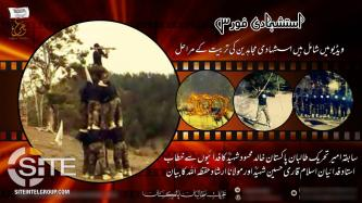 "TTP Video Shows Training of ""Martyrdom Seeker Mujahideen"""