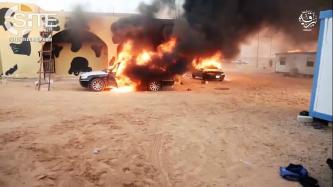 IS Division in Libya Releases Video on Suicide Bombings in Ajdabiya, Jufra, and Sirte, Raid on Qanan Police Station