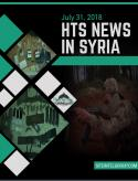 HTS News in Syria for July 31, 2018