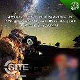After Depicting U.S. President Trump Beheaded, Pro-IS Group Portrays Him Shot