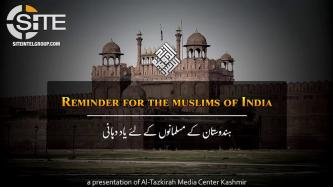 "Pro-IS Kashmiri Group Echoes IS' Calls in ""Reminder for the Muslims of India"""