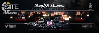 IS' al-Hayat Identifies 483 Casualties in 127 Attacks in Statistical Breakdown of Ops (September 13-19)