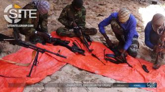 "IS' ""Somalia Province"" Gives Rare Look at Daily Life of its Fighters"