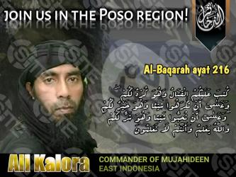 Pro-IS Group Distributes Recruitment Poster Featuring MIT Commander