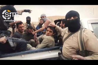 "IS Video Shows Operation Against ""PKK"" Near Hajin, Fighters Celebrating Victory in City Streets"