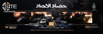 IS' al-Hayat Identifies 404 Casualties in 118 Attacks in Statistical Breakdown of Ops (October 11-17)