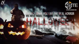 IS-linked Group Uses Celebration of Halloween to Instill Fear