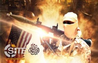 Poster Threatening the US Disseminated on IS Southeast Asia Channels