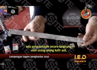 IS Video Detailing Manufacture of Explosive Devices Translated to Indonesian