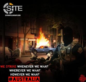 Jihadists Quick to Seize Upon IS Claim for Melbourne, Promote Threatening Propaganda