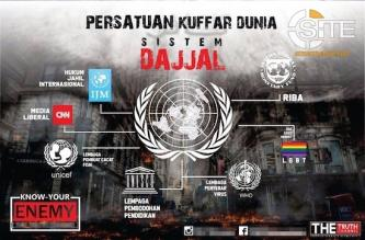 Social Media Campaign by Indonesian IS-Aligned Group Targets UN, LGBT