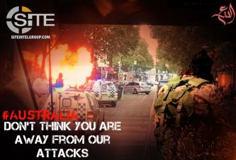 Australia Warning Posters Continue from IS-aligned Groups