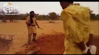 "IS Supporter Shares ""Mali Province"" Video of Fighters in Mali Executing ""Traitors"""