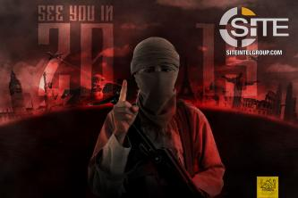 IS Supporters Flood TG Channels with Posters Inciting for Lone-Wolf Attacks on New Year's Eve