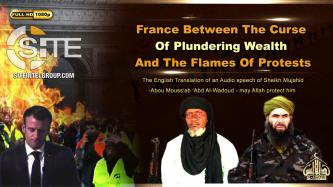 AQIM Leader Addresses Yellow Vest Protests in France in Audio, Denies Killing of JNIM's Macina Official