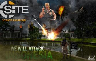 "Threats to Indonesia Depict Presidential Palace: ""We Will Attack"""