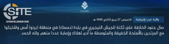 IS' West Africa Province Claims Attack on Nigerian Soldiers in Damasak