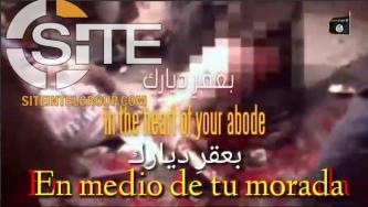 IS-aligned Group Releases Spanish-subtitled Video of Chant Promoting Attacks in the West