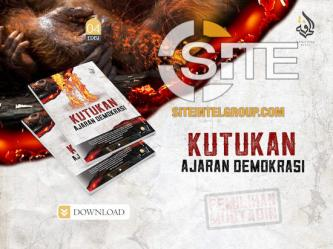 "Fourth Issue of Indonesian IS Magazine, ""Kutukan Ajaran Demokarsi,"" Distributed on Social Media"