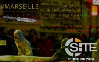 IS-aligned Group Portrays Marseille Knife Attack as IS Inspired