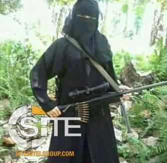 IS Channel Distributes Photo of Indonesian Widow in the Philippines