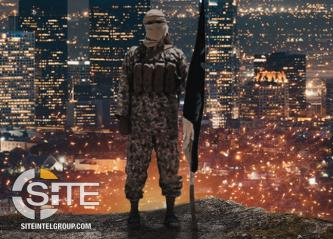 IS-aligned Group Uses Image of Los Angeles Skyline to Threaten Attacks