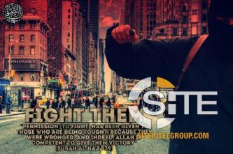 Poster Incites Lone-Wolf Knife Attacks in NYC