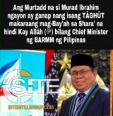 "Newly-Elected MILF Chairman Threatened by Filipino IS Supporters: ""He Should be Beheaded"""