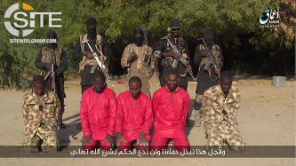 'Amaq Releases Video Showing Executions of Soldiers in Borno, Nigeria