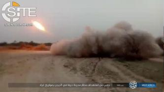 IS' West Africa Province Claims Mortar Strikes in Borno (Nigeria), Publishes Photos of Rocket Attack on Diffa Airport (Niger)