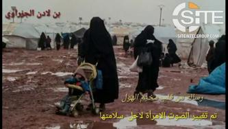 IS Supporter Distributes Plea for Help from Alleged Woman in al-Hawl Camp