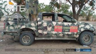 IS' West Africa Province Claims Killing 10 Nigerian Soldiers in Clash Near Maiduguri, Shows Bloody Corpse of Enemy