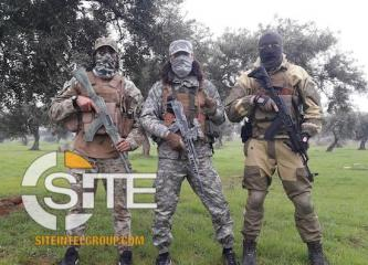 Syria-Based Chechen Group Publishes Fighter Training Videos