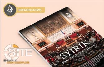 "Fifth Issue of Indonesian IS Magazine, ""Syirik Parlemen & Undang,"" Distributed on Social Media"