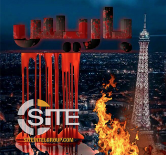 IS-Aligned Group Depicts Eiffel Tower in Flames
