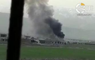 Afghan Taliban Claims Suicide Bombing on U.S. Military Convoy Near Bagram Air Base