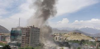 Afghan Taliban Claims Suicide Raid at U.S.-Based NGO Counterpart International Offices in Kabul