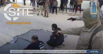 HTS Publishes Video & Photo Report of a Public Execution of a Criminal Gang