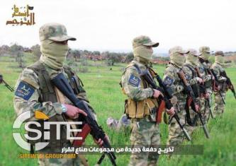 AQ-Aligned Ansar al-Tawhid Photo Report Documents Graduation of New Fighters