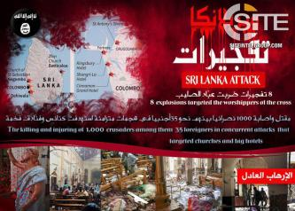 IS Supporter Warns Events of Sri Lanka Will Repeat in America, Britain, and France