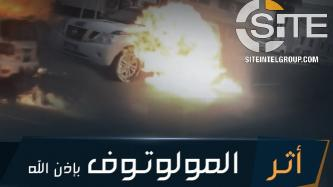 IS Supporter Redistributes Molotov Cocktail Guides on Preparation and Targets