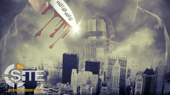 IS-Linked Posters Incite Lone Wolf Attacks in London & NYC