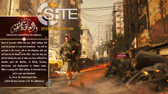 Brooklyn Bridge Featured in Poster from Pro-IS Media Group Threatening Attacks in US Homeland