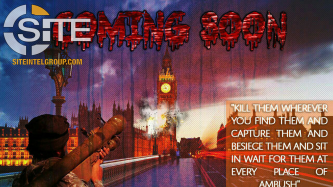 Pro-IS Poster Depicts Explosion at London's Palace of Westminster