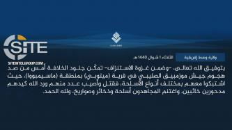 IS Claims 1st Attack in Mozambique, Deterring Military Offensive in Cabo Delgado Region